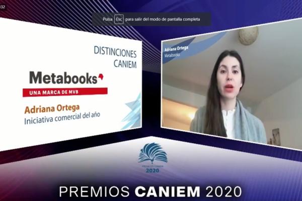 Foto Metabooks Caniem Premios 2020 II
